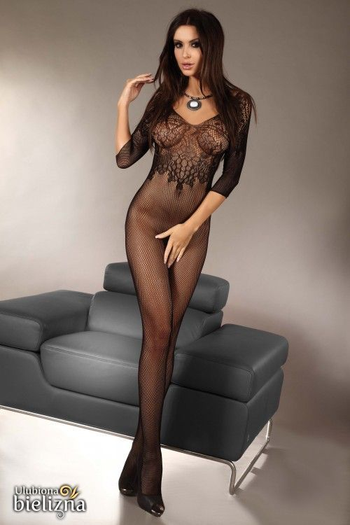 JOSSLYN Bodystocking, black