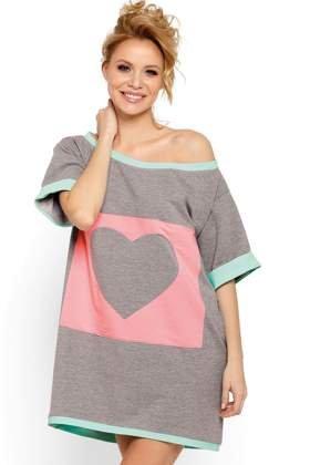 3a3cfe78d9 P-624 Dresowa koszula nocna