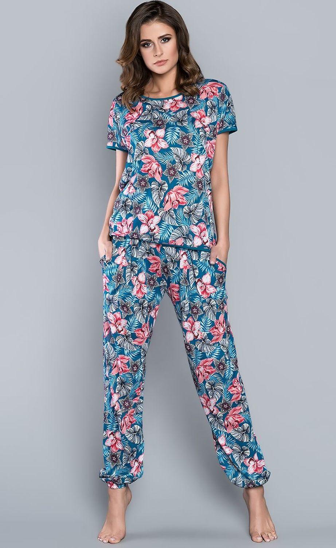 410430ada9ede7 Długa piżama z wiskozy OPUNCJA 45122 w cenie 79,90 zł - sklep ...