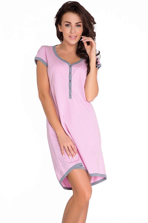 Dobranocka 5038 Koszulka ciążowa i do karmienia, pastel