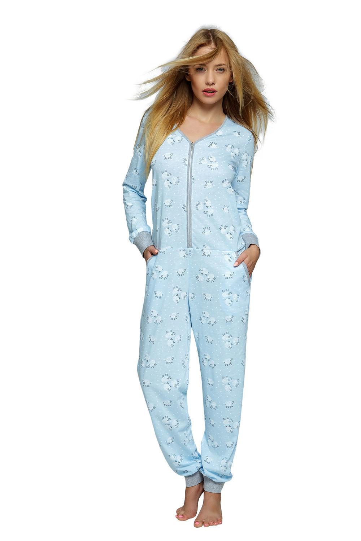046979a07043c4 Piżama - kombinezon w owieczki BLUE SHEEP, bawełna 33572 w cenie 99 ...