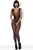 Obsessive Bodystocking N112 (kolor: czarny, typ: bodystocking)